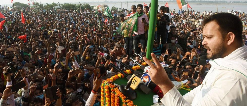 rjd candidate lalit yadav is first winning candidate in bihar