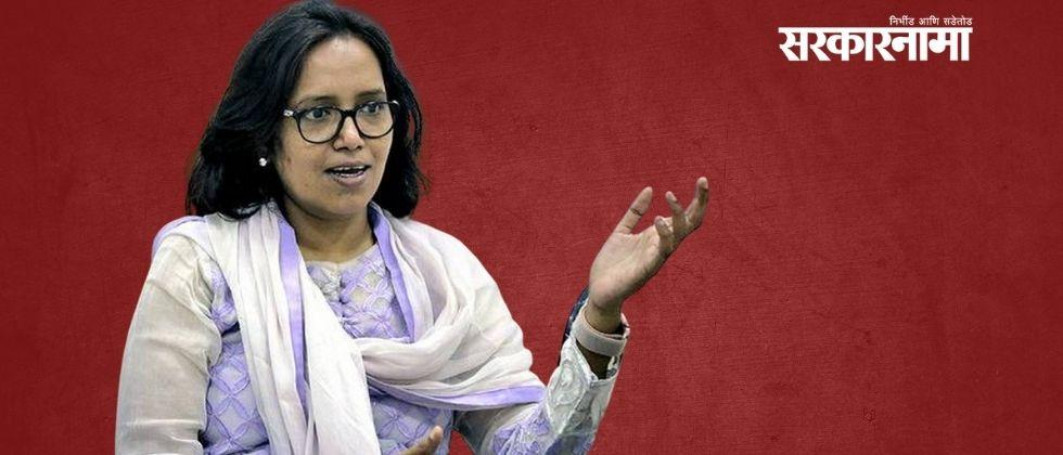 Why do people have to come to the ministry for petty work? : Varsha Gaikwad