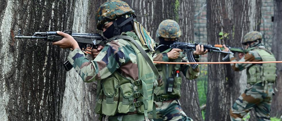 chiefs of four terrorist outfits killed in jammu and kashmir
