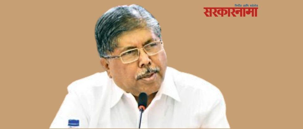 chandrakant patil demands mcoca action against ministers in mva government