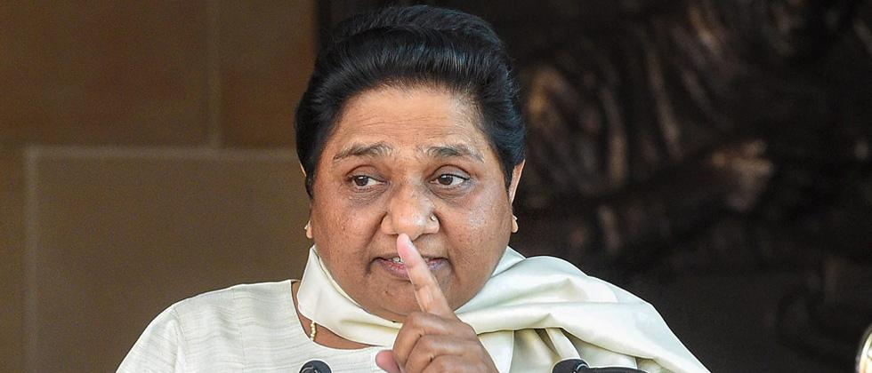 bsp supremo mayawati says she will never form alliance with bjp
