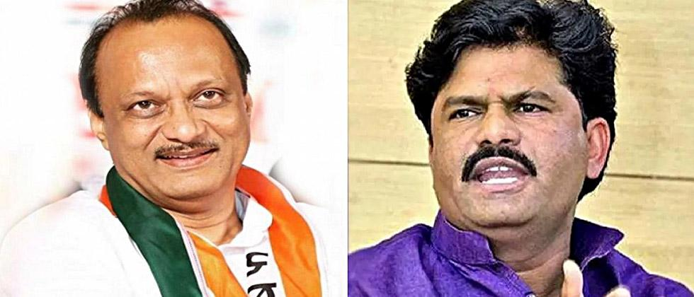 Padalkar's tongue slipped; The parable of the wolf given to Ajit Pawar ...