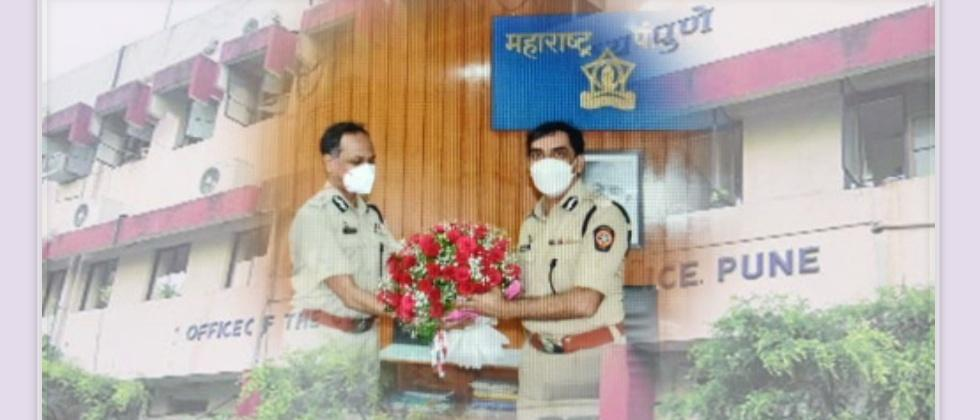 Amitabh Gupta Taking Charge of Commissioner of Police post from K. Venkatesham
