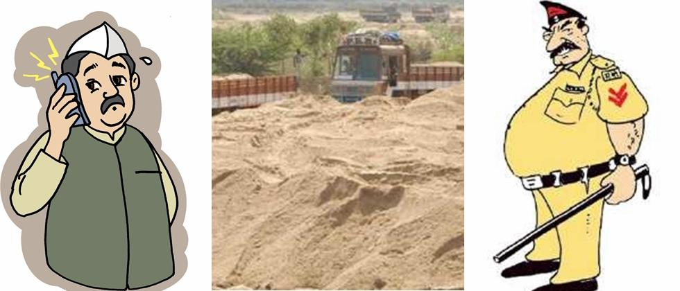 Police and Sand Mafia Nexus in Pune District