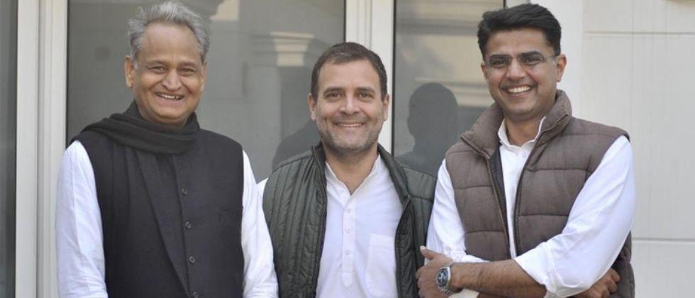 sachin pilot slams bjp leader for interfering in congress party matter