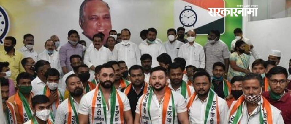 Dalit Panther activists join NCP in the presence of Deputy CM Ajit Pawar