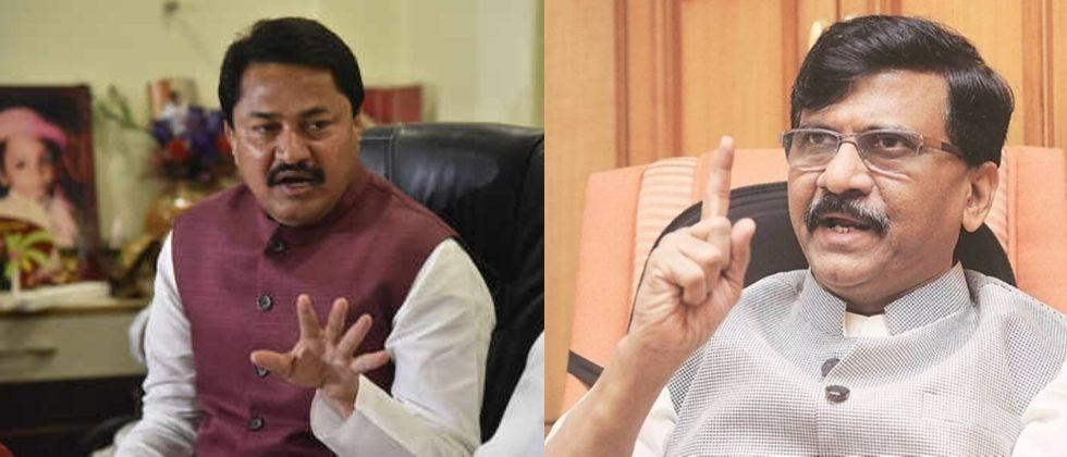 Nana Patole complaint against Sanjay Raut with the Chief Minister