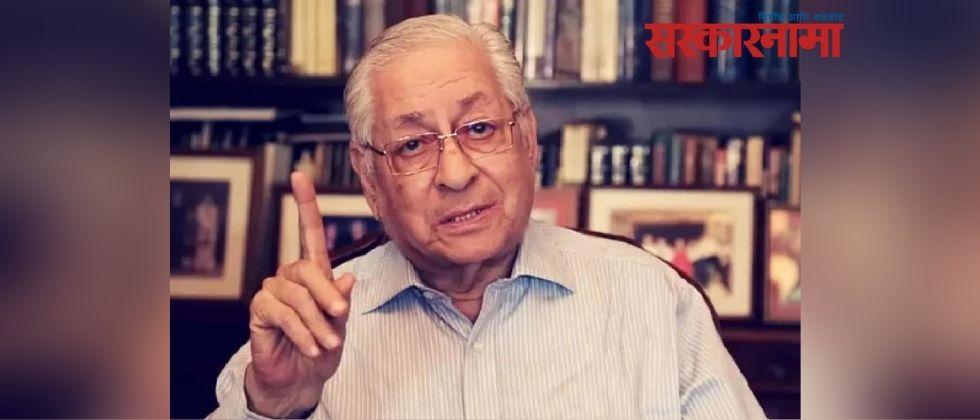 former indian attorney general soli sorabjee died due to corona
