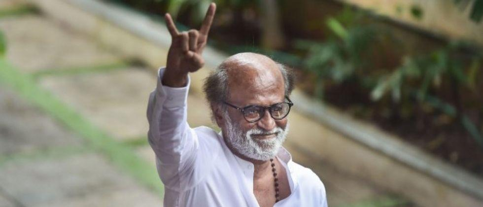 Rajanikanth says I have no plans of entering politics in future