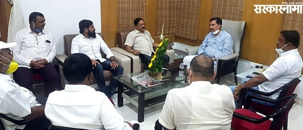 Ramaraj's discussion with the leaders of Maan-Khatav to stop Gore