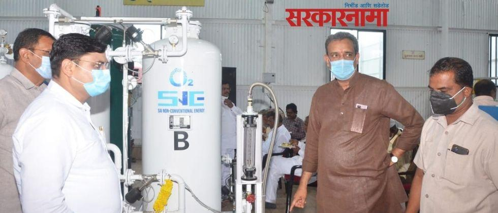 The Pandurang factory at Sreepur set up an oxygen generating plant in just eight hours