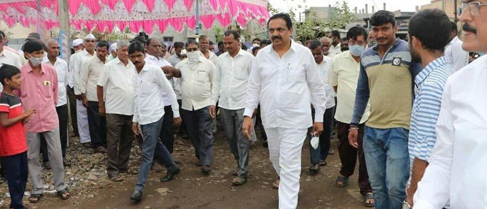 Jayant Patil on a state tour after discussions on the Chief Ministers post