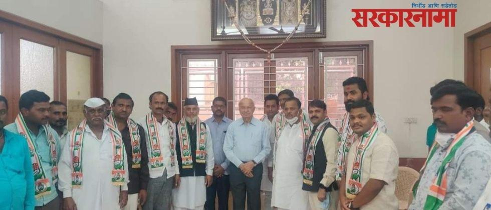 Accused of murder enters Congress in the presence of former Union Home Minister Sushilkumar Shinde