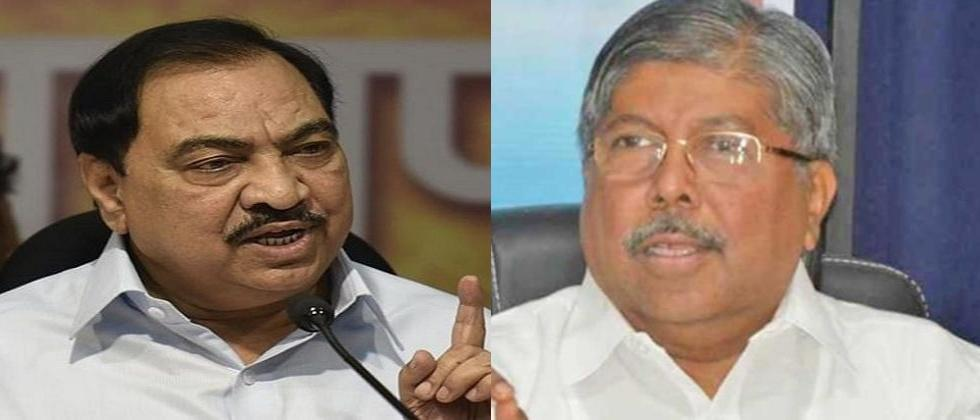 bjp leader chadrakant patil says i havent received resignation of any party leader