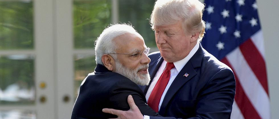 prime minister narenda modi wishes for speedy recovery of donald trump