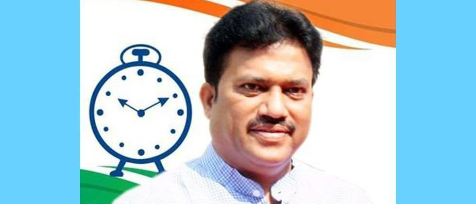 MLA Shashikant Shinde angry over attack on NCP office