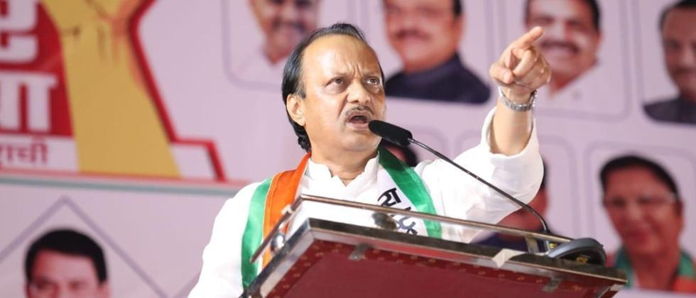 Ajit Pawar took on construction officials on the spread; Road repair instructions gived  a year ago