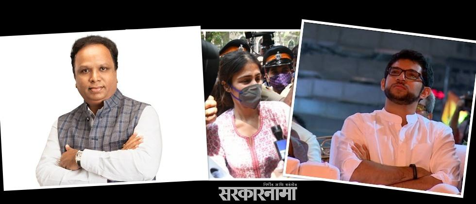Ashish Shelar Targets Shivsena Again on Rhea Chakraborty Issue