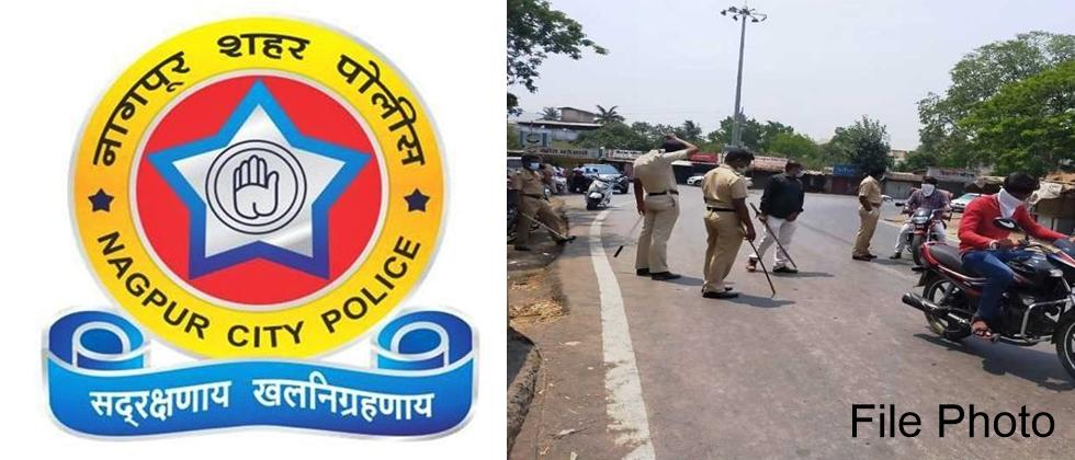 Nagpur Police Became More Aggresive in Corona Curfew