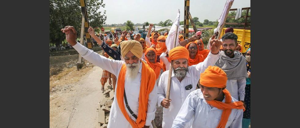 farmers in punjab say they will deny entry to bjp leaders in villages
