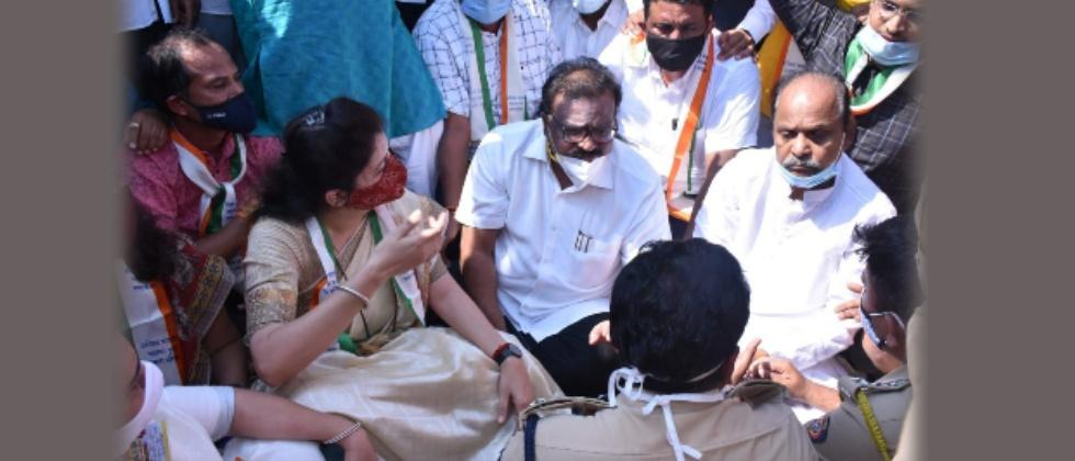 Samir Bhujbal Arrested in Pune while Taking OBC Morcha