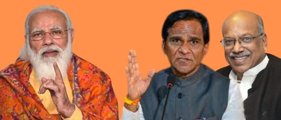 raosaheb danve and sanjay dhotre resign from union cabinet