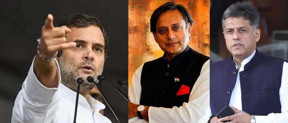 shashi tharoor and manish tiwari are race for leader of opposition