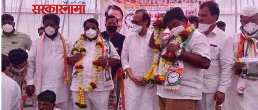 Mohite Patil, Paricharak supporters join NCP in the presence of Deputy Chief Minister Ajit Pawar