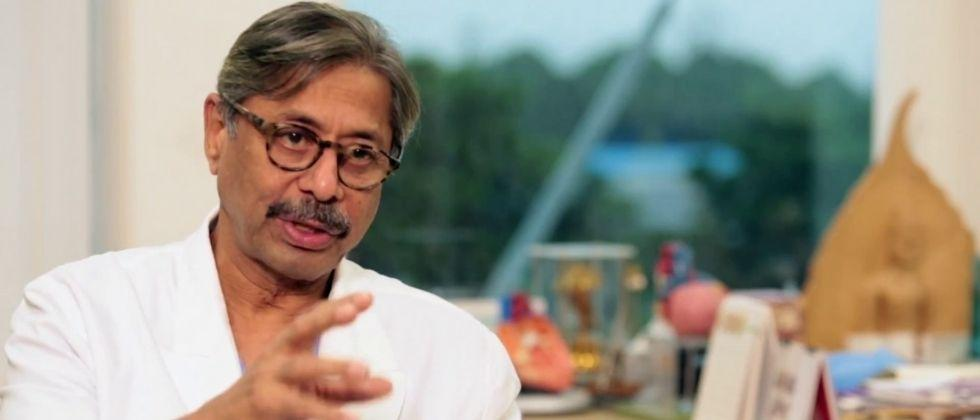 dr naresh trehan says india should reduce gap between two doses of covid vaccine