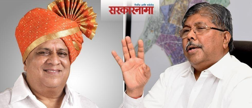 Rural Development Minister Hasan Mushrif criticizes BJP state president Chandrakant Patil