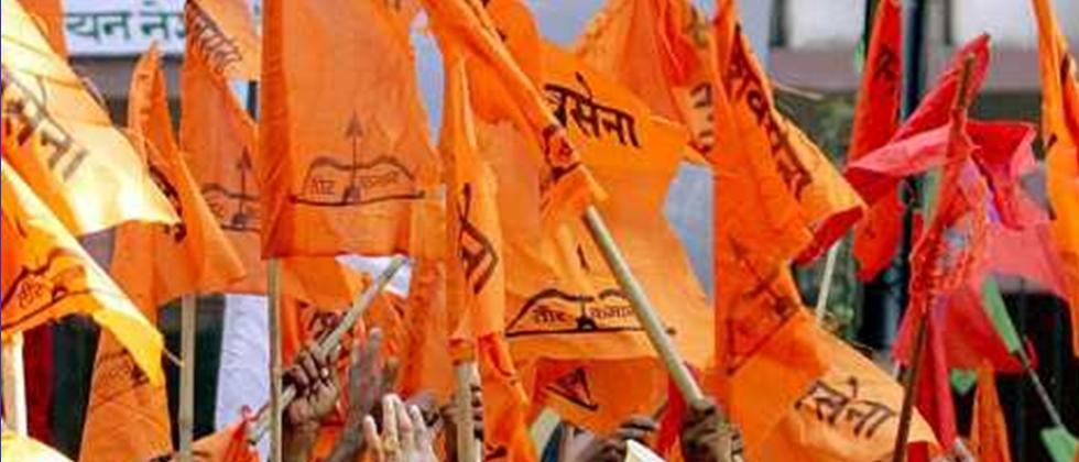 Shivsena Flags