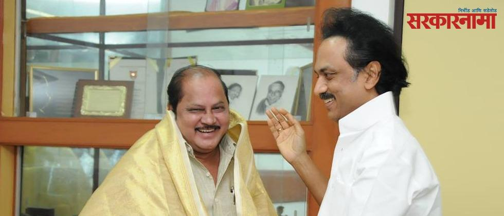 dmk mla suspended from party after he met bjp president j p nadda