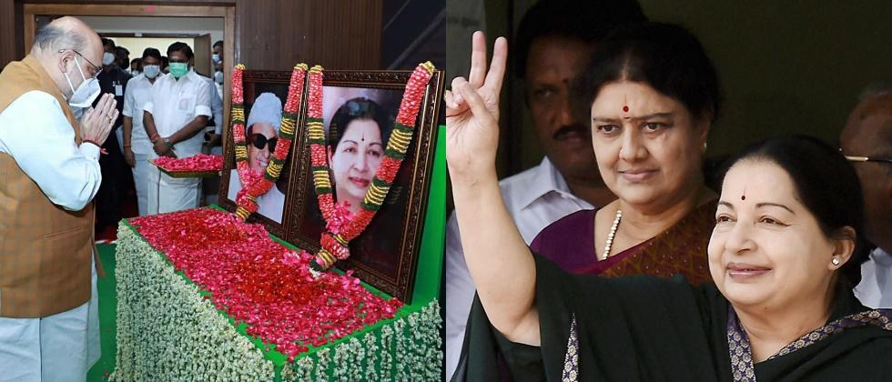 aiadmk leaders worry about sasikala release from jail in january