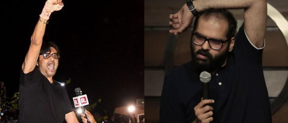 actor targets arnab goswami and supports kunal kamra