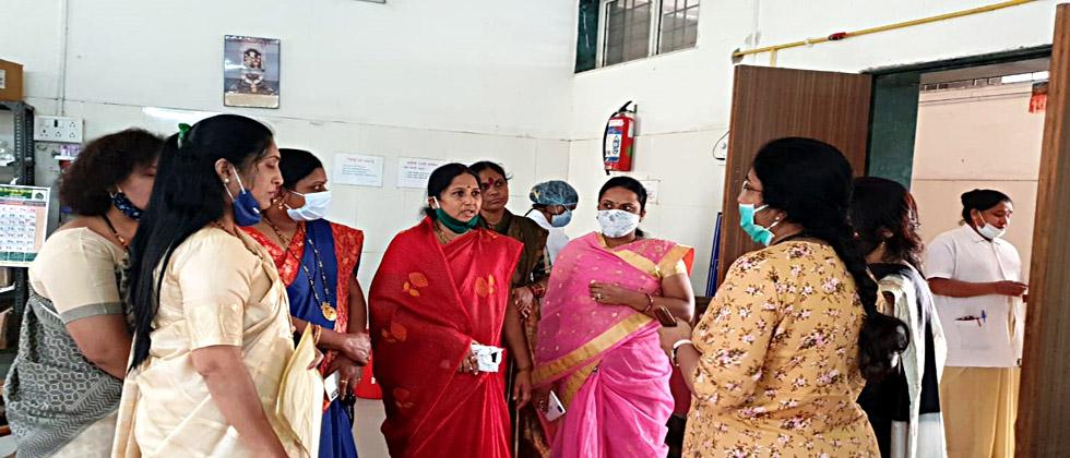 There is no emergency exit at Alandi Rural Hospital; An error was found in the audit of BJP Mahila Morcha