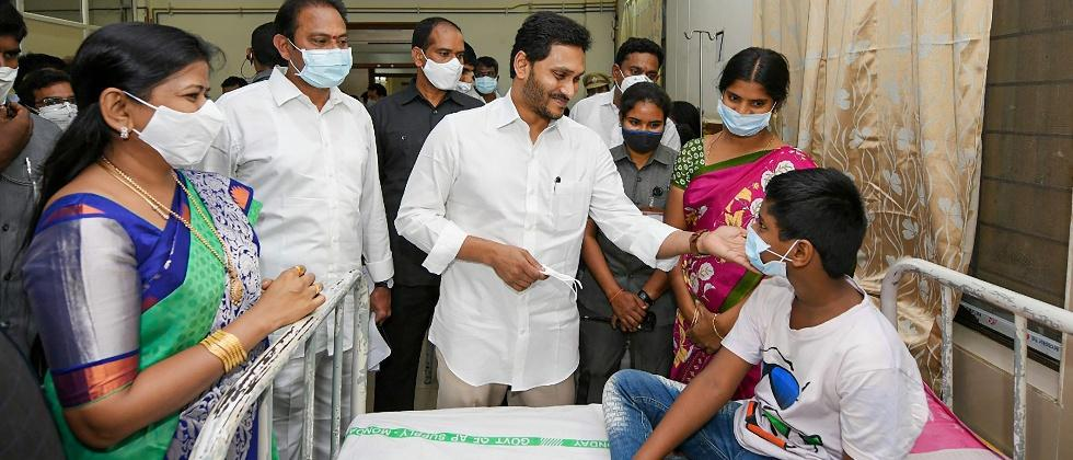 one person has died in andhra pradesh due to unknown sickness
