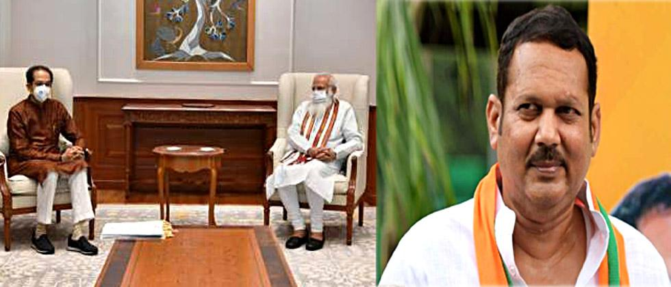 On the meeting between Thackeray and Modi, Udayanraje says, This is a political compromise,