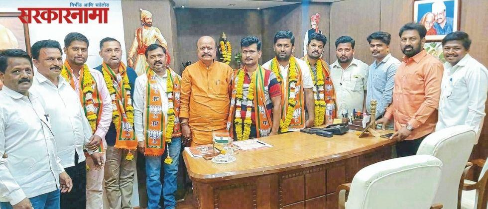 Within eight days of getting the post, he left the NCP and joined the BJP