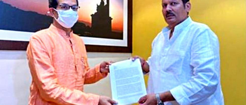 MP Udayanraje meets Chief Minister Thackeray on Maratha reservation issue ....