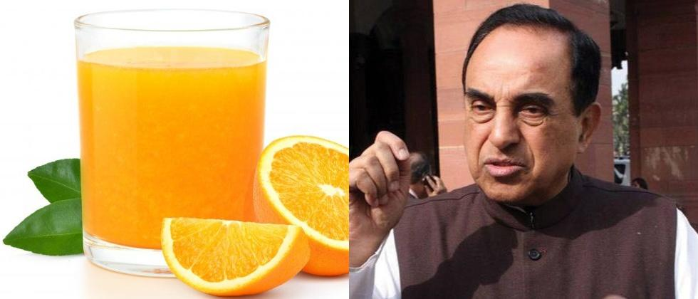 subramanian swamy questions why sushant singh rajputs orange juice glass was not preserved