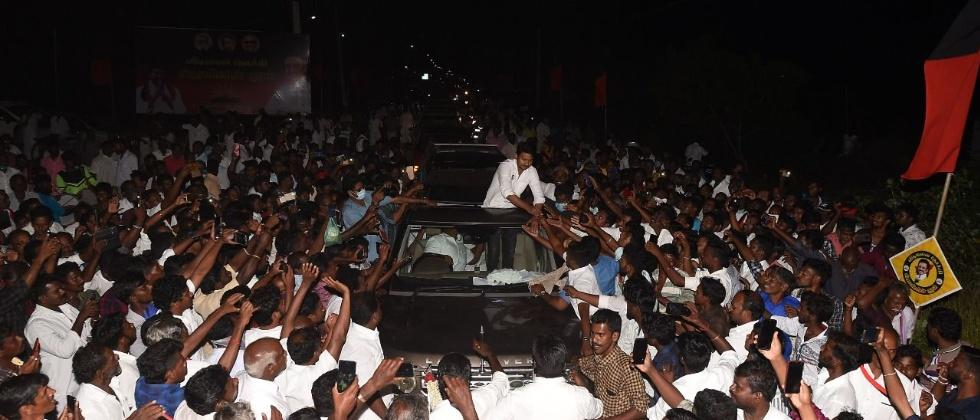 Udhayanidhi Stalin arrested on second day of campaign in Tamil Nadu