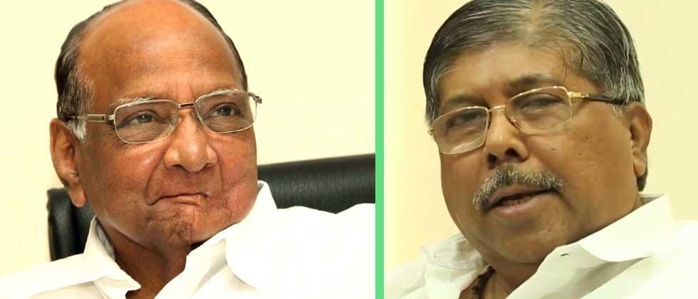 Sharad Pawar failed to control the government : Chandrakant Patil