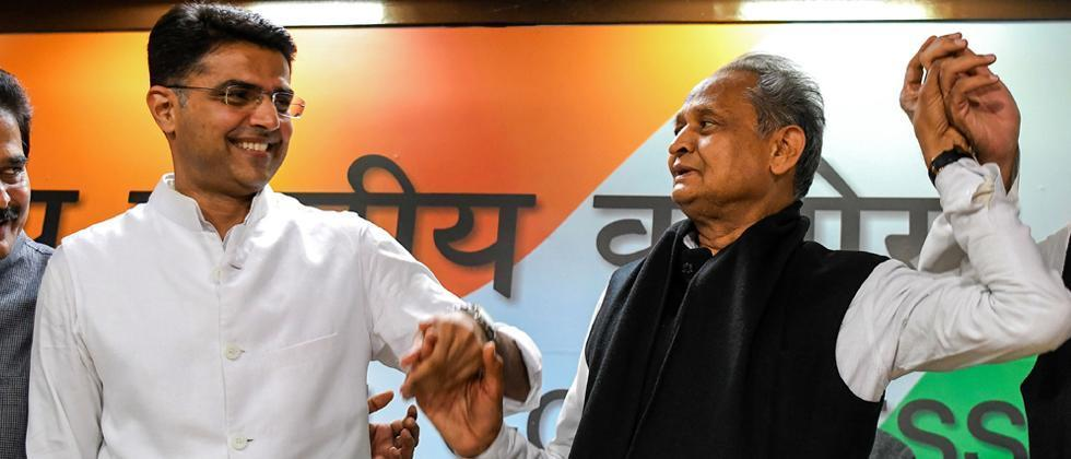 last year congress leader sachin pilot revolted against party