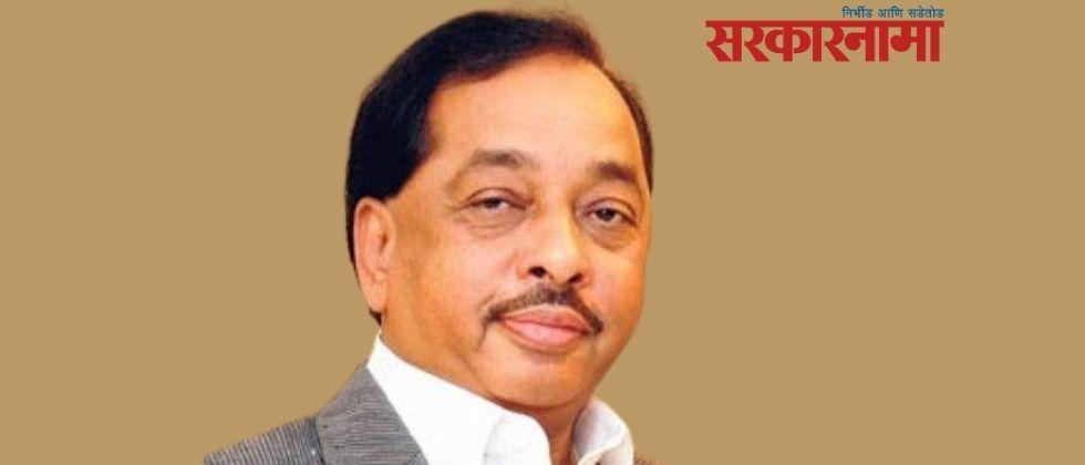 Have you been made a minister to oppose Shiv Sena? The answer given by Rane
