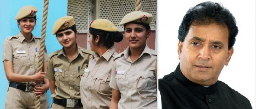 Lady Police Officers - Anil Deshmukh