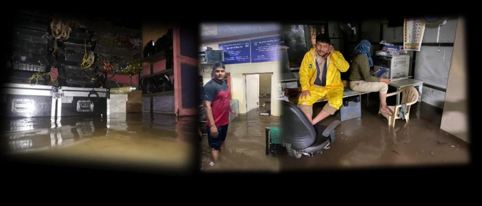 Pune City Flooded with Rains Yesterday