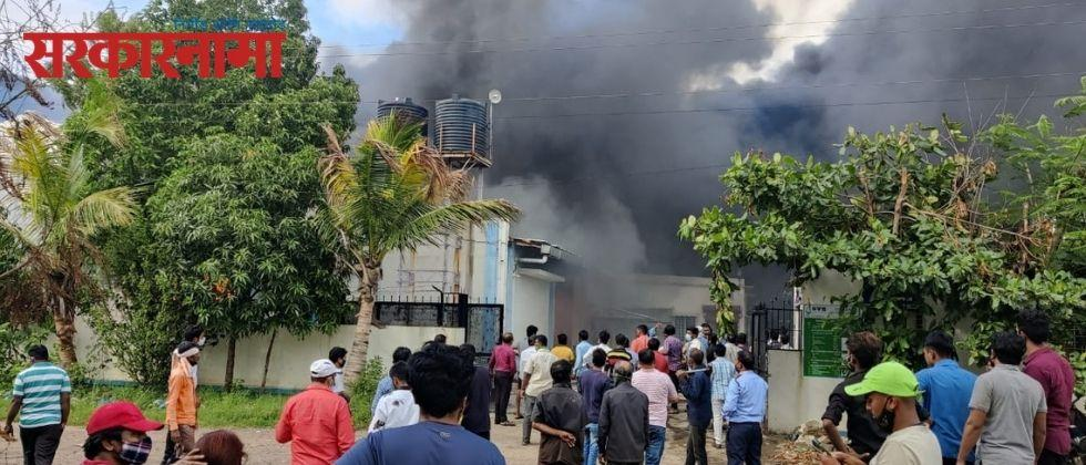 17 workers die in fire at chemical company in Mulshi taluka