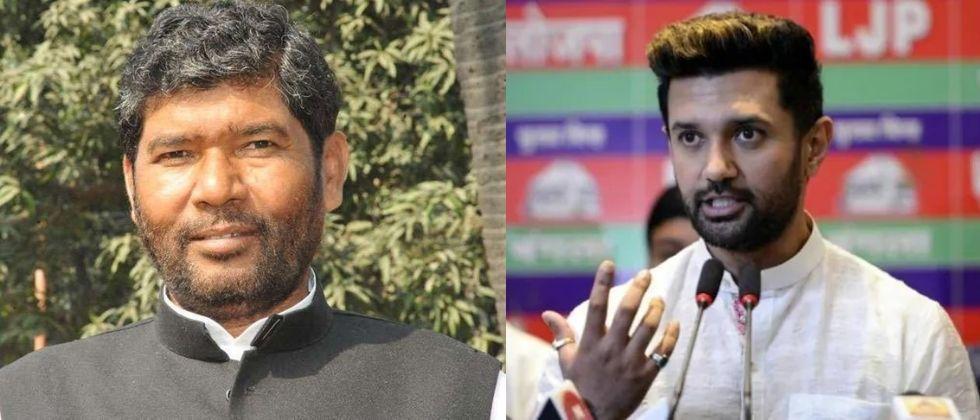 chirag paswan opposes inclusion of pashuati kumar paras in union cabinet