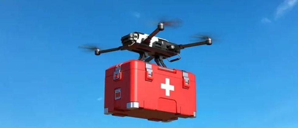 soon vaccine and life saving drugs delivery by drones in remote areas