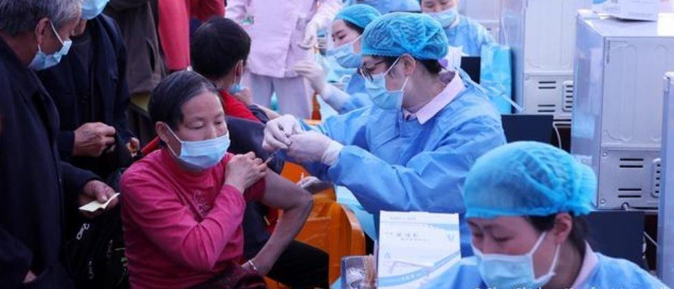 China has passed the one billion mark of covid vaccination